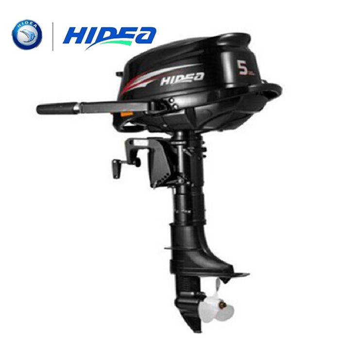 HIDEA Wholesale and Retails Water Cooled 4-stroke 5 HP marine engine outboard motor for boats long shaft - PanasiaMarine.Com