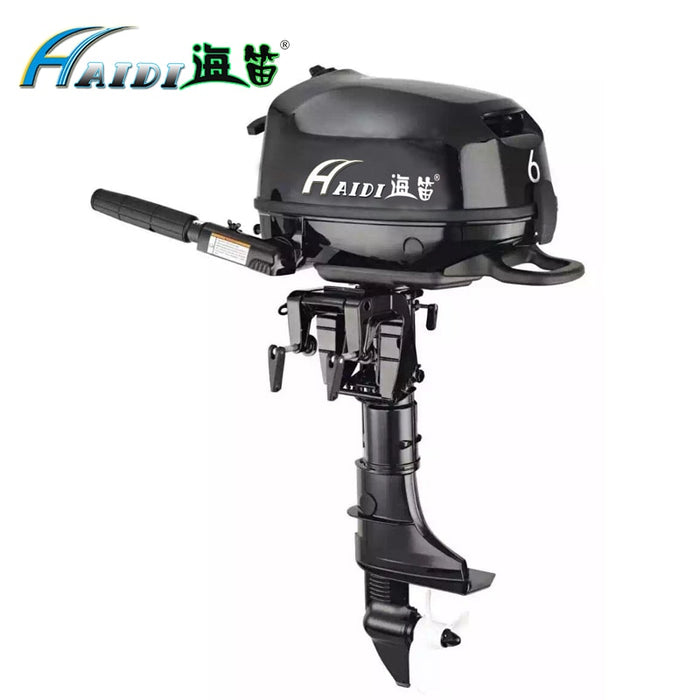HaiDi Wholesale and Retails Water Cooled 4 -stroke 6 HP marine engine outboard motor for boats - PanasiaMarine.Com