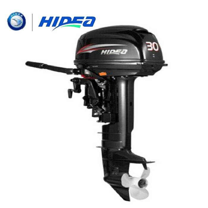 HIDEA Hot Selling Water Cooled 2-stroke 30 HP Marine Engine Outboard Motor For Boats  long shaft - PanasiaMarine.Com