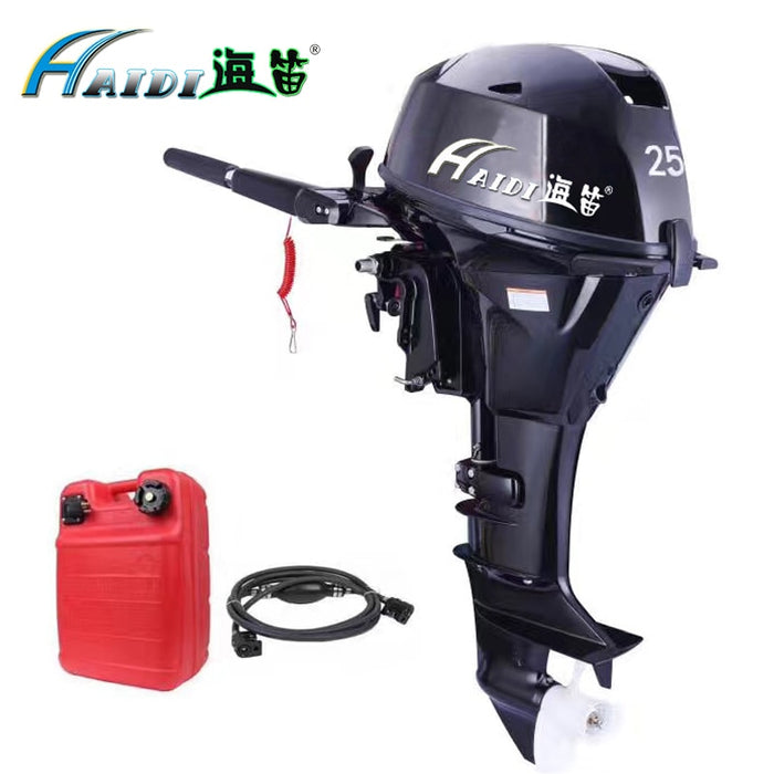 HaiDi Wholesale and Retails Water Cooled 4 -stroke 25 HP marine engine outboard motor for boats - PanasiaMarine.Com
