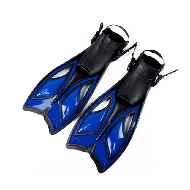 Unisex Frog Snorkeling Adjustable Ankle Long Hydrofoil Guiding Swimming Flippers - PanasiaMarine.Com