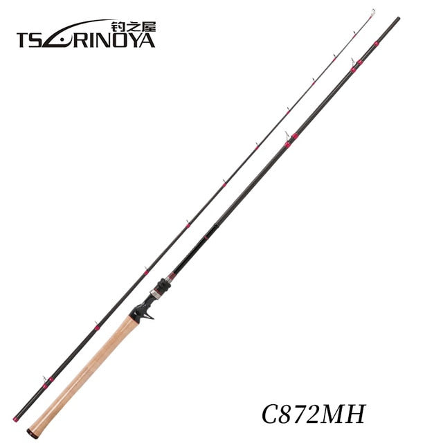 TSURINOYA SWORDSMAN 2 Sections 2.65m MH Spinning Casting Fishing Rod Fast Fishing Tackle Peche A La Carpe Lure Rod Canne A Peche - PanasiaMarine.Com