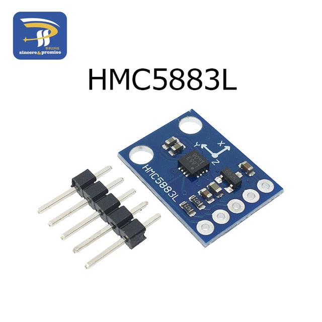 GY-273 3V-5V HMC5883L QMC5883L Triple Axis Compass Magnetometer Sensor Module Three Axis Magnetic Field Module For Arduino - PanasiaMarine.Com