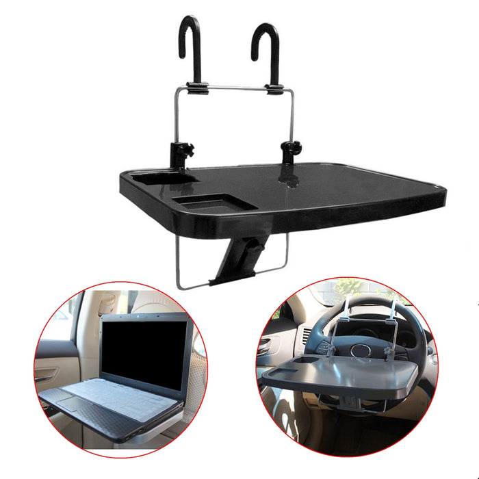 1 Pc Car Seat Mount Tray Holders For Laptop PC Table Notebook Food Table Desk Cup Tablet Stands Holder Accessory & Parts - PanasiaMarine.Com