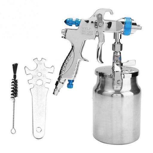 1.7mm Nozzle Bottom Feeding Mode Air Paint HVLP Spray Gun Pneumatic Tool  New - PanasiaMarine.Com