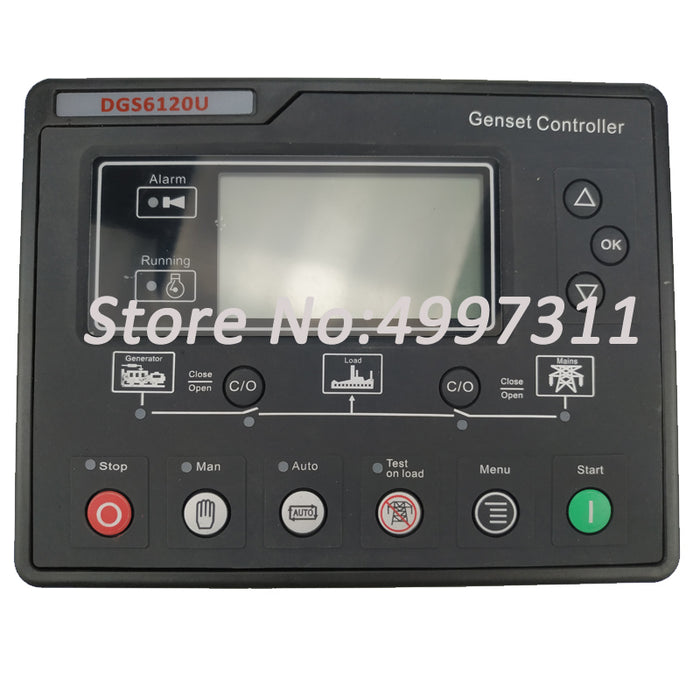 15 years Factory Quality Auto Start Generator Controller 6120U/compatible with genset controller SMARTGEN for Diesel Engine - PanasiaMarine.Com