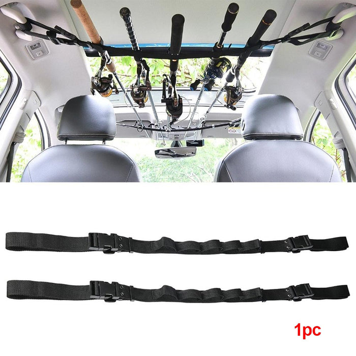 Booms Fishing VRC Vehicle Rod Carrier Rod Holder Belt Strap With Tie Suspenders Wrap Fishing Tackle Boxes Tools Box Accessories - PanasiaMarine.Com