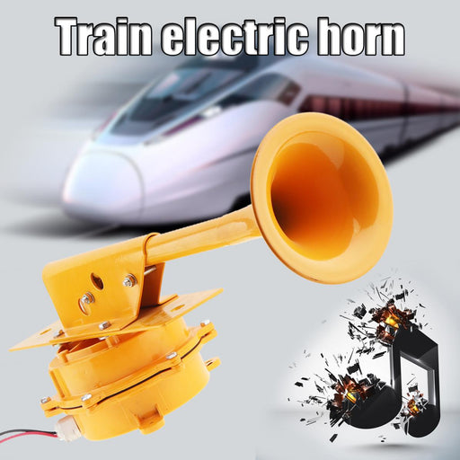 12V / 24V Durable 320HZ 126DB Super Loud All Metal Train Horn No Need Compressor for Truck / Boat / Train / Lorry - PanasiaMarine.Com