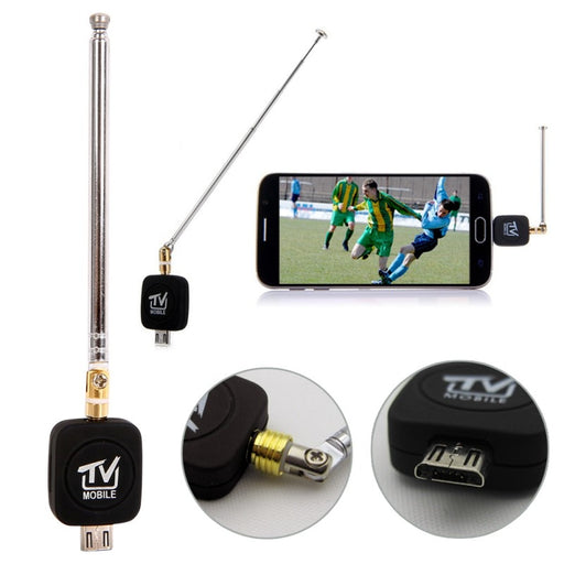 EDAL Micro USB DVB-T tuner TV Receivers Mini Dongle/Antenna DVB T HD Digital Mobile TV HDTV Satellite Receiver for Android Phone - PanasiaMarine.Com