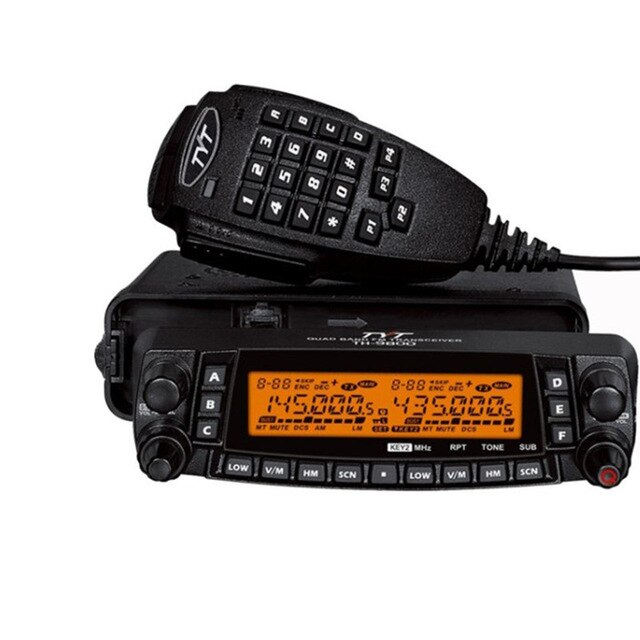 Fast Car Radio Walkie talkie TYT TH-9800 VHF 50W UHF 35W 800CH Quad Band Transceiver - PanasiaMarine.Com