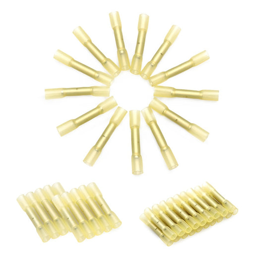 10Pcs AWG 26-22 Waterproof Heat Shrink Butt Connectors Insulates Seal Electrical Wire Splice Cable Crimp Terminals Connectors - PanasiaMarine.Com