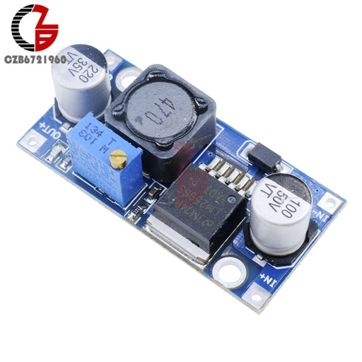 DC-DC Step Down Buck Converter Module LM2596 3.2V-40V to 1.25V-35V Adjustable Power Voltage Regulator Step-down Transformer - PanasiaMarine.Com