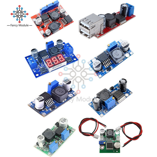 LM2596S LM2596 DC-DC 3.2V-40V to 1.25V-35V 2A Adjustable Step Down Power Supply Buck Converter Module Voltage Regulator Module - PanasiaMarine.Com