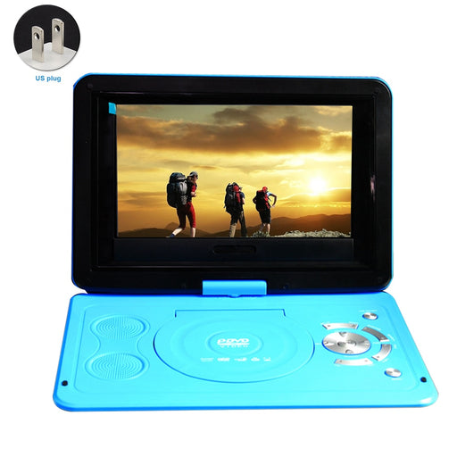 Rechargeable Battery 13.9inch Mini DVD Player TV Game Outdoor HD USB CD Home Car Swivel Screen LCD Portable - PanasiaMarine.Com