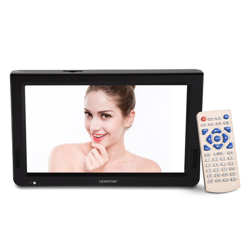 LEADSTAR 10 inch DVB-T-T2 Digital Analog Television 1024x600 Resolution Color NTSC 50Hz Portable Car Mini TV Support TF card Hot - PanasiaMarine.Com