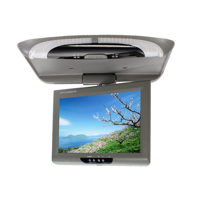 9 Inch Video LCD Color With Remote Controller Digital Screen Car Monitor Roof Mount Dome Lights DVD ABS CD Player TFT Flip Down - PanasiaMarine.Com
