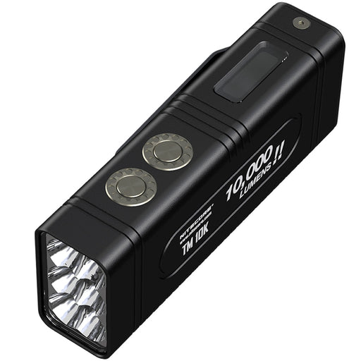 new NITECORE TM10K 10000LM CREE XHP35 HD LED Hight Light  Rechargeable Flashlight Included 4800mAh Battery Outdoor Hunting Torch - PanasiaMarine.Com