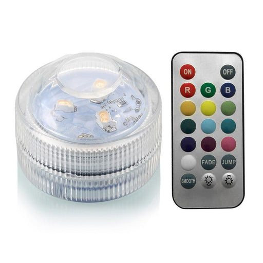 IP68 Waterproof Remote Control Diving Decoration Lamp 5050 SMD LED Multi Colored Light Bulb Submersible RGB LED Light Party Lamp - PanasiaMarine.Com