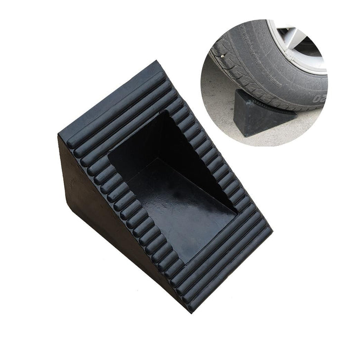 Small Corner Blocks Rubber Wheel Chock Retainer Car Stoppers Reverse Pad Slope Chock Suitable For All Vehicle - PanasiaMarine.Com