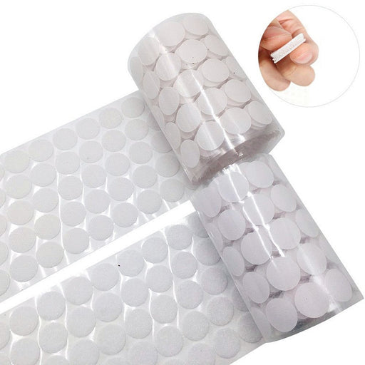 50Pair/lot Self-adhesive Magic Dots the hooks nylon sticker self adhesive hook and loop Velcro fastener with Glue DIY for sewing - PanasiaMarine.Com