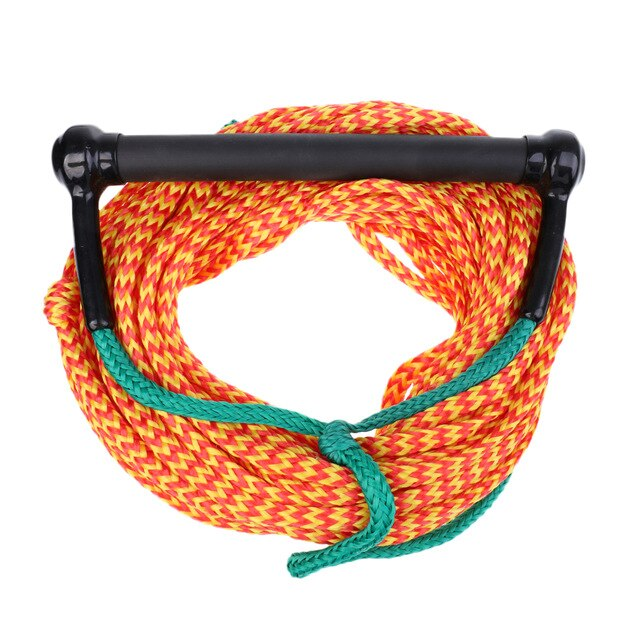 Professional Water Ski Wakeboard Kneeboard Tow Rope Line Cord with Handle for Camping Hiking Wakeboarding Boating Kayak Diving - PanasiaMarine.Com
