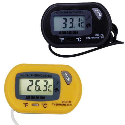 New arrival digital LCD Temperature TEMP Tester Marine Vivarium Thermometer  Monitor For Aquarium Fish Tank with Suction Cup 20% - PanasiaMarine.Com