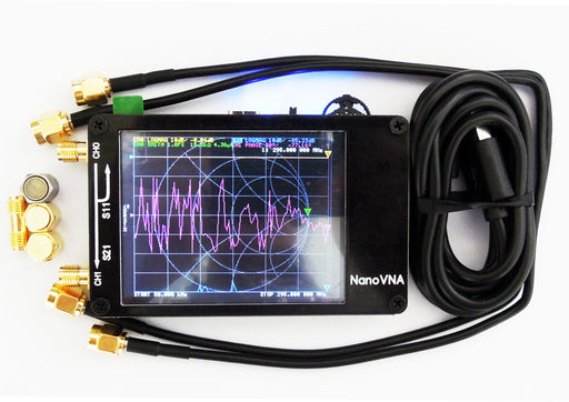 NanoVNA Very tiny handheld Vector Network Analyzer 50KHz -900MHz  Digital LCD display HF VHF UHF Antenna Analyzer - PanasiaMarine.Com