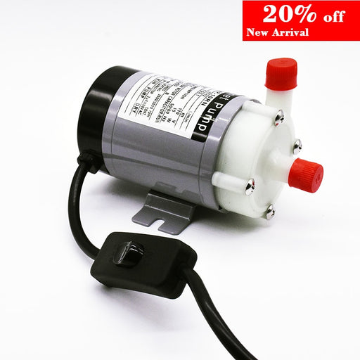 Food Grade Water Pump Brewing pump Homebrew MP-10RN with on/off switch Wort Transfer Magnetic Drive Circulation pumps - PanasiaMarine.Com