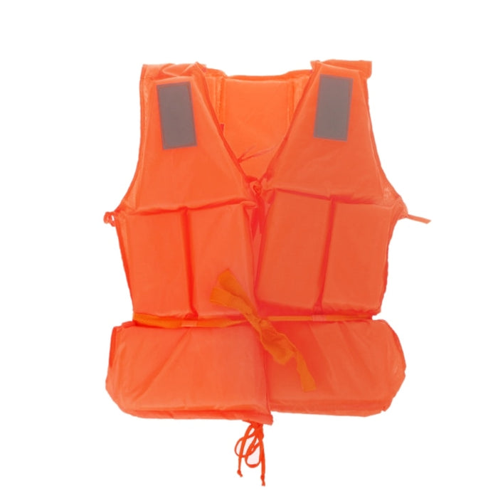 OOTDTY New Orange Adult Foam Flotation Drifting Swimming Life Jacket Vest With Whistle - PanasiaMarine.Com