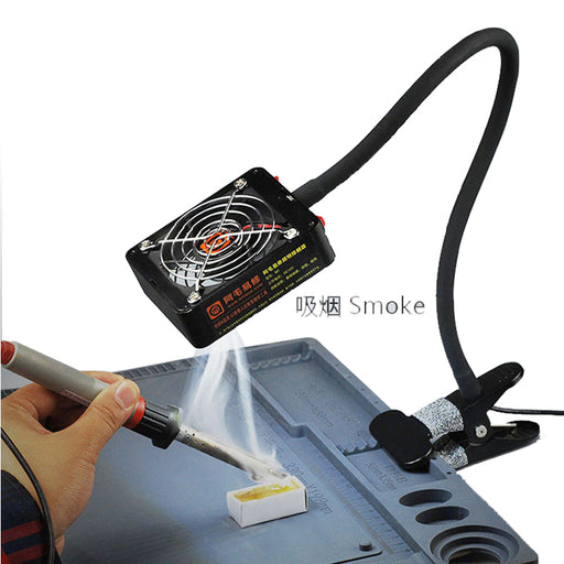 M1 M2 M3 fan smoke detector Mobile phone repair lighting and smoking fume extractor fan clip button - PanasiaMarine.Com