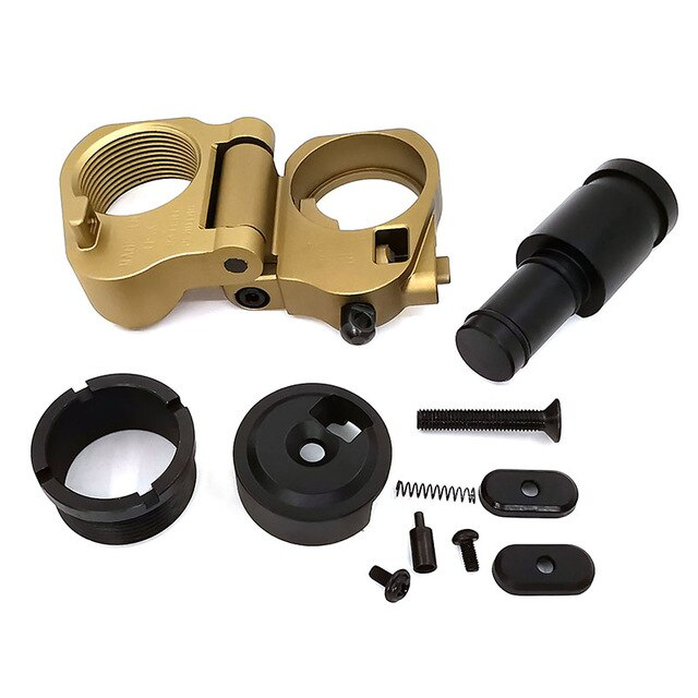 Hunting Accessories Tactical AR Folding Stock Adapter For M16/M4 Series GBB(AEG) For Airsoft Scope - PanasiaMarine.Com
