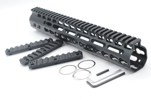 "TriRock Hunting Accessories Picatinny Rail NSR 12"" Free Float Handguard Top System Lightweight With 3 PCS Rail Section - PanasiaMarine.Com"