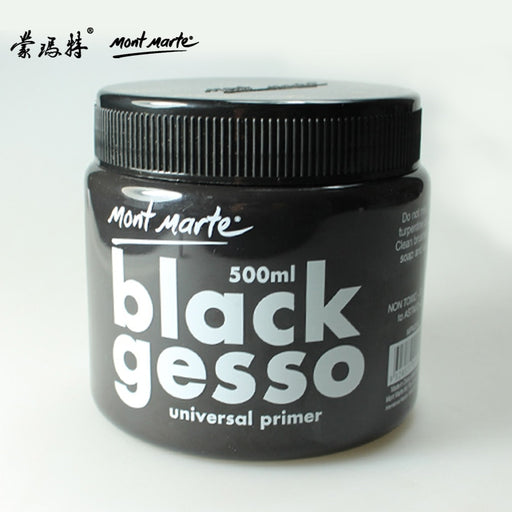 Freeshipping 500ml Montmartre black oil painting bottom material of high quality 500ml gesso/ canned paint barrel - PanasiaMarine.Com
