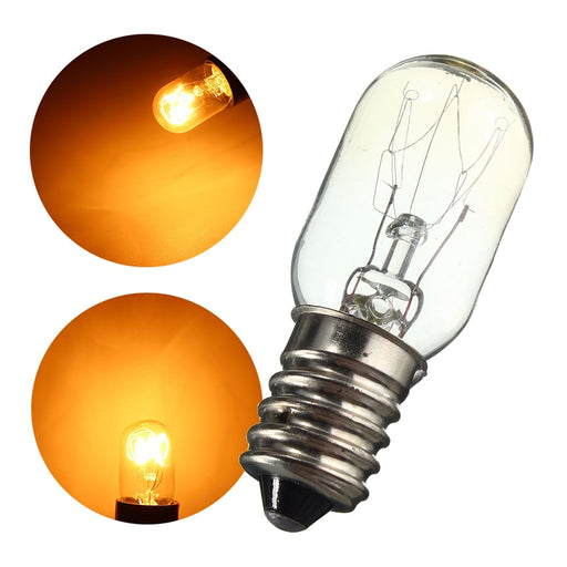 Mini Fridge Lights Edison Bulb E14 SES 15W/25W  Refrigerator Lamp Bulb Tungsten Filament Warm White Lighting AC220-230V - PanasiaMarine.Com