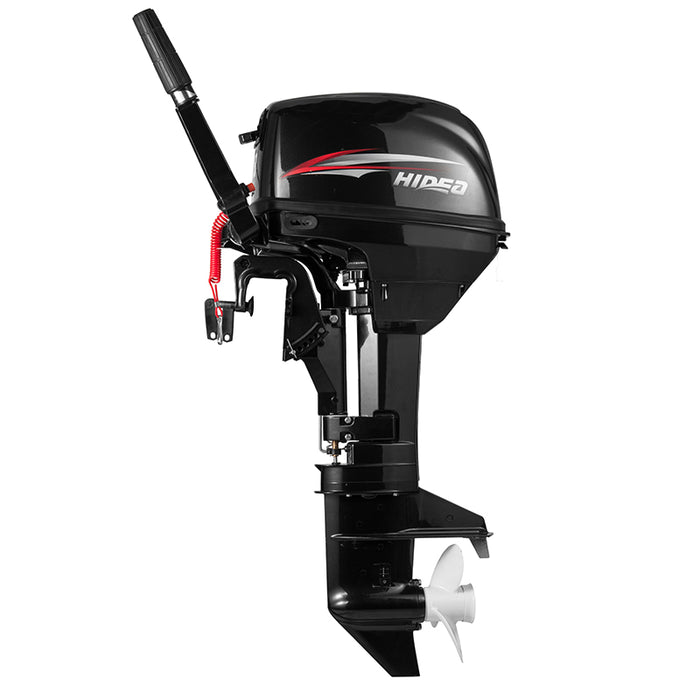 Hidea  Boat Engine  2 Stroke 9.8HP Long Shaft Outboard Motor For Sale - PanasiaMarine.Com