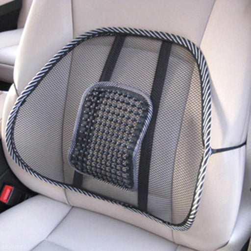 Massage Cushion Mesh Back Lumber Support Brace Office Chair Car Seat Relax Pad - PanasiaMarine.Com