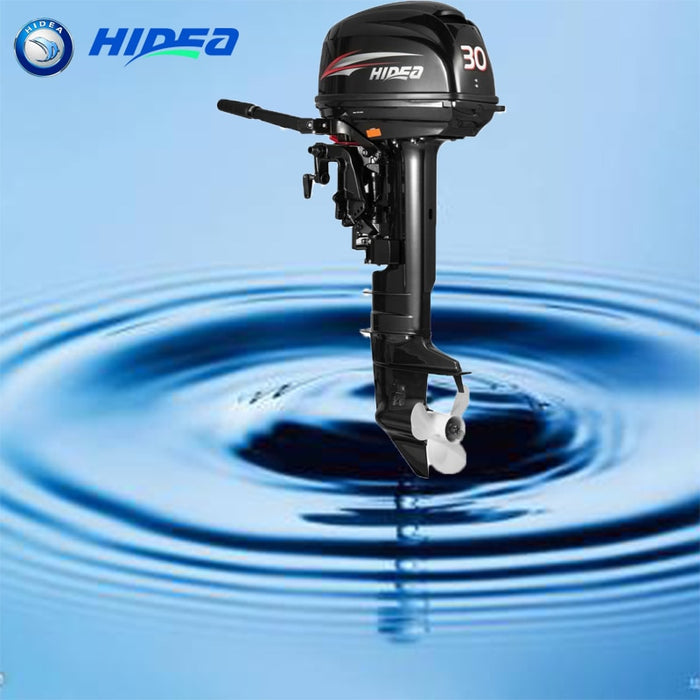 Hidea  Boat Engine  2 Stroke 30HP Long Shaft Manual start  Outboard Motor For Sale - PanasiaMarine.Com