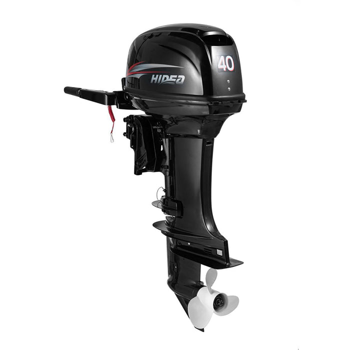 Hidea  Boat Engine  2 Stroke 40HP Long Shaft  Manual start  Outboard Motor For Sale - PanasiaMarine.Com