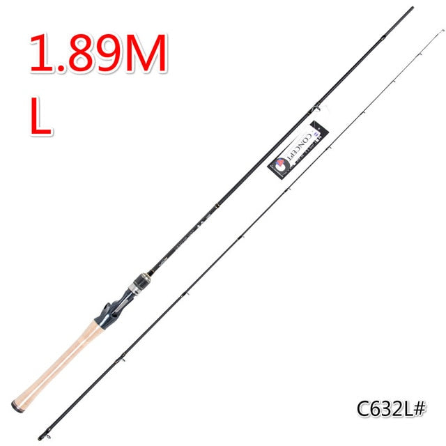 High Quaility Carbon Fishing Rod 1.89m Lure Rod Power L Super Light Casting Rod Soft Carbon Lure Rod Strong Fishing Tackle - PanasiaMarine.Com