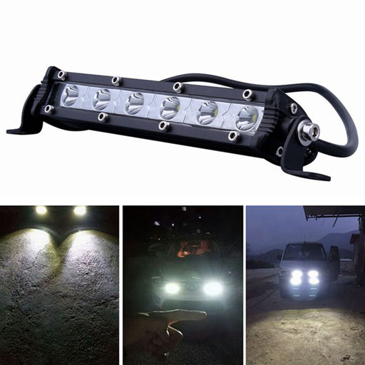 iSincer 24W Car LED Work Light Bar led Chips Waterproof Offroad Car Work Bulb headlight ATV SUV 4WD Boat Truck for Jeep BMW - PanasiaMarine.Com