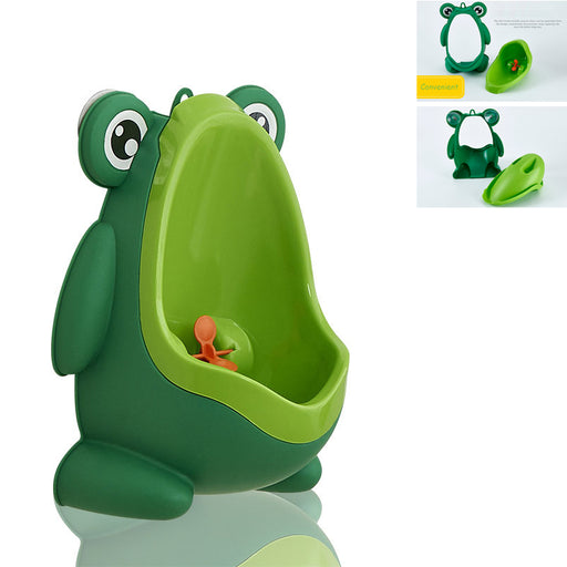 Baby Boy Wall-Mounted Hook Frog Potty Toilet Training Frog Stand Vertical Urinal Penico Pee Infant Toddler Bathroom Frog Urinal - PanasiaMarine.Com