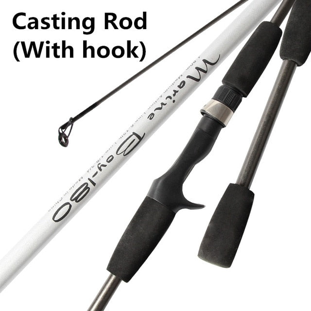 Carbon Spinning Fishing Rod M Power Hand Fishing Tackle Lure Rod Lure Wt:3-21g Casting Rod Canne Spinnng Leurre Spinning Fishing - PanasiaMarine.Com