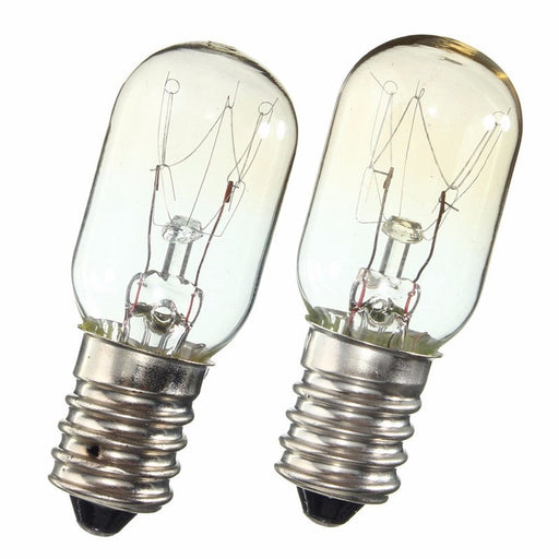AC 220-230V Edison Bulb E14 SES 15W/25W Refrigerator Fridge Light Bulb Tungsten Filament Lamp Bulbs Warm White Ligthing - PanasiaMarine.Com