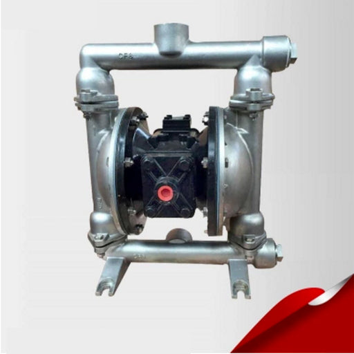 QBY-25P 316 Stainless Steel Marine Sanitation Diaphragm Pneumatic Pumps with F46 diaphragm - PanasiaMarine.Com