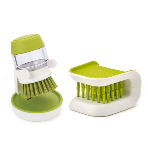 Knife and Fork Cutlery Pan Dish Bowl Brush With Detergent Tank Kitchen Clean Tools - PanasiaMarine.Com