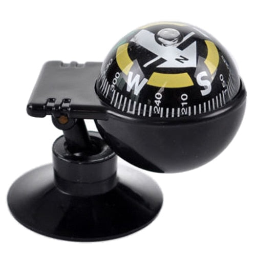 New Car Vehicle Floating Ball Magnetic Navigation Compass Black - PanasiaMarine.Com