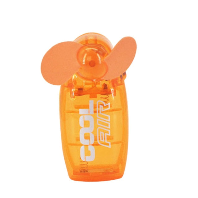 Hot Lovely Mini Portable Pocket Fan Cool Air Hand Held Travel Battery Powered Blower Electric Cooler New HY99 JU20 - PanasiaMarine.Com