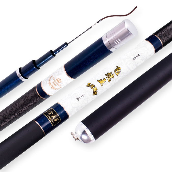 Carbon Fiber Taiwan Fishing Rod Carp Fishing Rod Fishing Pole 3.9/3.6/4.5/4.8/5.4M Power XH Hand Rod Stream Rod Fishing Tackle - PanasiaMarine.Com