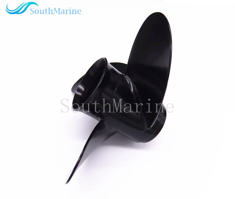 Aluminum Propeller 8.5x9 for Tohatsu / Nissan 2-Stroke 4-Stroke 8HP 9.8HP Outboard Motor 8.5 x 9 , Pitch 12 spine ,Free Shipping - PanasiaMarine.Com