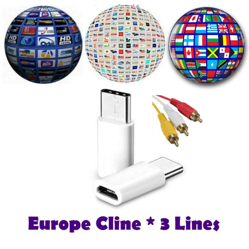 1 year/6 month Cccam 6clines for Satellite Receiver Set top box Spain UNITED KINGDOM Germany French POLSAT MOVISTAR - PanasiaMarine.Com